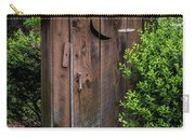 Old Outhouse Carry-all Pouch