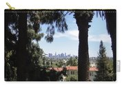 Old Palm Trees And Downtown Los Angeles Carry-all Pouch