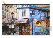 Old Paris Cafe Carry-all Pouch