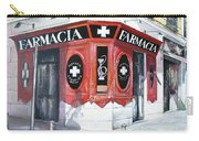 Old Pharmacy Carry-all Pouch by Tomas Castano