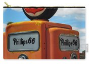 Old Phillips 66 Gas Pump Carry-all Pouch