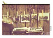 Old Photo Archive Carry-all Pouch