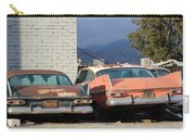 Old Plymouths With Mountain View  Carry-all Pouch