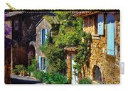 Old Provencal Village Street Carry-all Pouch