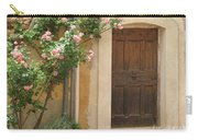 Old Provence Door And Rose Tree Carry-all Pouch