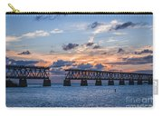 Old Rail Bridge At Florida Keys Carry-all Pouch
