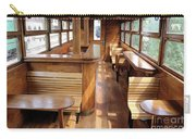 Old Railway Wagon Interior Vintage Carry-all Pouch