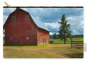 Old Red Big Sky Barn  Carry-all Pouch