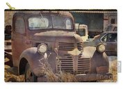 Old Red Dodge Truck Carry-all Pouch