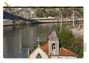 Old Riverside Church In Portugal Carry-all Pouch