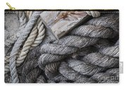 Old Ropes On Dock Carry-all Pouch