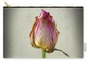 Old Rose On Paper Carry-all Pouch