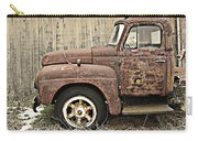 Old Rust Truck Carry-all Pouch