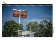 Old Rustic Fuel Station Sign In The Countryside Carry-all Pouch