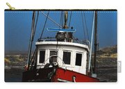 Old Rustic Red Fishing Boat Carry-all Pouch