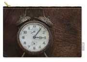 Old Rustick Clock Carry-all Pouch