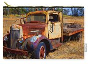 Old Rusting Flatbed Truck Carry-all Pouch