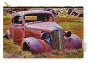 Old Rusty Car Bodie Ghost Town Carry-all Pouch by Garry Gay