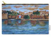Old San Juan Gate, 4x6 In. Original Is Sold Carry-all Pouch