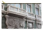 Old San Juan Puerto Rico Downtown Green Carry-all Pouch