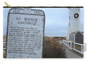 Old Scituate Lighthouse Carry-all Pouch