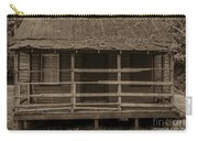 Old Shack In Sepia Carry-all Pouch