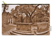 Old Sheldon Church Ruins Beaufort Sc Sepia Carry-all Pouch