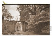 Old Sheldon Church Ruins Sepia 2 Carry-all Pouch