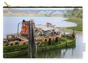Old Ship - 2 Carry-all Pouch by Christy Pooschke