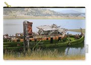 Old Ship - 4 Carry-all Pouch by Christy Pooschke