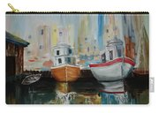Old Ships At Dock Carry-all Pouch