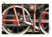 Old Steam Locomotive Wheels Carry-all Pouch