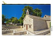 Old Stone Chapel In Primosten Carry-all Pouch