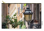 Old Street Light In Barcelona, Spain Carry-all Pouch