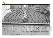 Old Street Sint Maarten In Sepia Carry-all Pouch