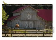 Old-style Horse Barn Carry-all Pouch