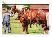 Old Timers Carry-all Pouch by Toni Grote