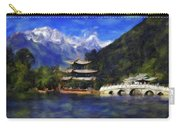 Old Town Of Lijiang Carry-all Pouch