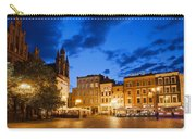 Old Town Square By Night In Torun Carry-all Pouch