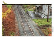 Old Train Station Norwich Vermont Carry-all Pouch