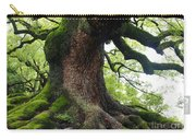 Old Tree In Kyoto Carry-all Pouch by Carol Groenen