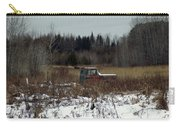 Old Truck And A Moose Carry-all Pouch
