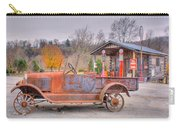 Old Truck And Gas Filling Station Carry-all Pouch