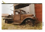 Old Truck In Old Forgotten Places Carry-all Pouch