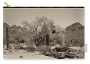 Old Tucson Landscape  Carry-all Pouch