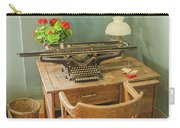 Old Underwood Typewriter Carry-all Pouch