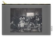 Old Varsity Men Break In And Give Advice, First State By George Bellows  Carry-all Pouch