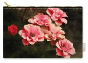Old Victorian Fuchsia Pink Rose Carry-all Pouch