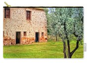 Old Villa And Olive Trees Carry-all Pouch