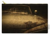 Old Vintage Plymouth Car Hood Carry-all Pouch